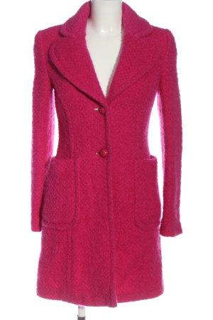 Hallhuber Übergangsmantel pink Casual-Look