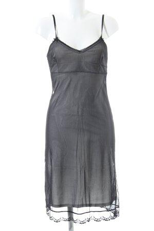 Hallhuber Unterkleid schwarz Elegant