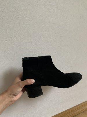 Hallhuber Velour Boots Größe 38