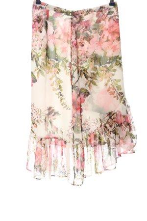 Hallhuber Spódnica z falbanami Wzór w kwiaty W stylu casual