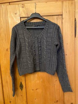 Hallhuber Knitted Vest anthracite