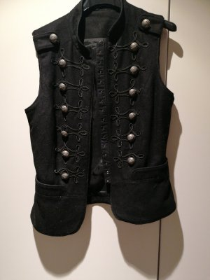 Hallhuber Traditional Vest black
