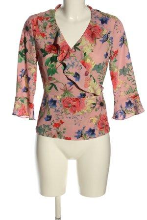 Hallhuber Kopertowa bluzka Na całej powierzchni W stylu biznesowym