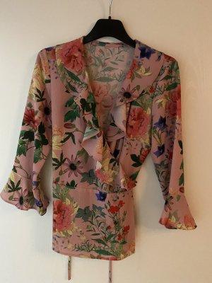 Hallhuber Kopertowa bluzka różowy