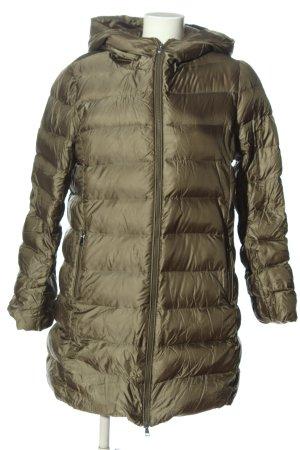Hallhuber Kurtka zimowa khaki Pikowany wzór W stylu casual