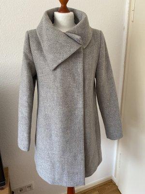 Hallhuber Wełniany sweter jasnoszary
