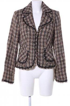 Hallhuber Woll-Blazer Allover-Druck Business-Look
