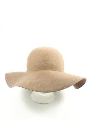 Hallhuber Woolen Hat natural white-light grey casual look