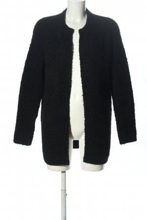 Hallhuber Veste en laine noir style d'affaires