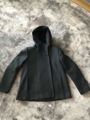 Hallhuber Wool Jacket black
