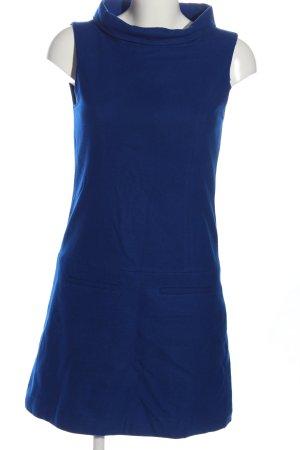 Hallhuber Wollkleid blau Business-Look