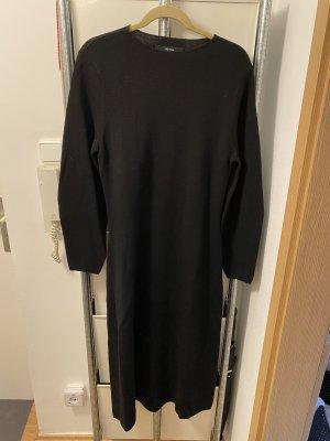 Hallhuber Vestito di lana nero
