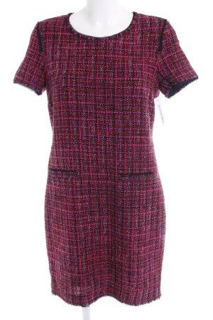 Hallhuber Robe en laine multicolore tissu mixte