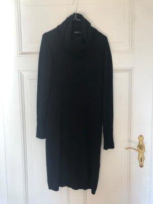 Hallhuber Robe en laine noir