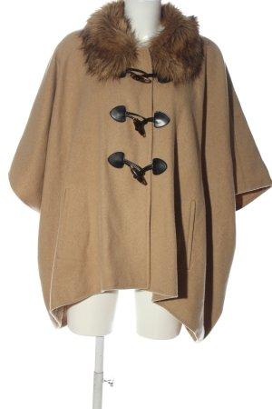 Hallhuber Wool Coat brown casual look