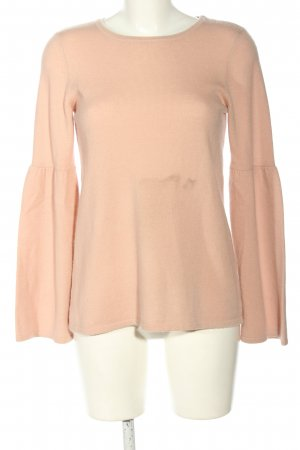 Hallhuber Wollpullover nude Casual-Look