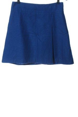 Hallhuber Jupe en laine bleu style décontracté