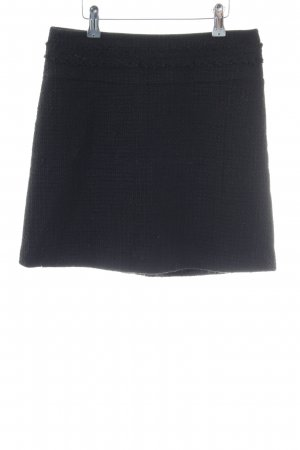 Hallhuber Wool Skirt black business style