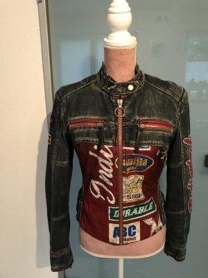 Miss Sixty Biker Jacket multicolored cotton