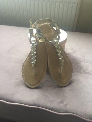 Sandalo toe-post sabbia