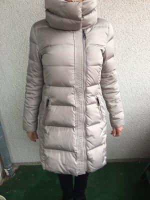Hallhuber Manteau en duvet gris clair-argenté