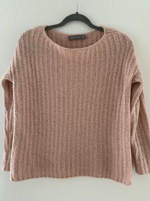 Halluber Pullover in Rosa