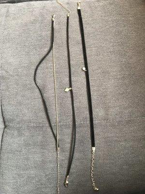 Halsbänder mit Anhänger (3er pack)