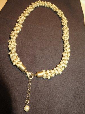 Halsband Perlenimitat