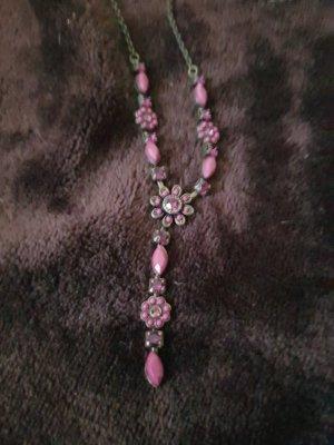 Collar color bronce-púrpura