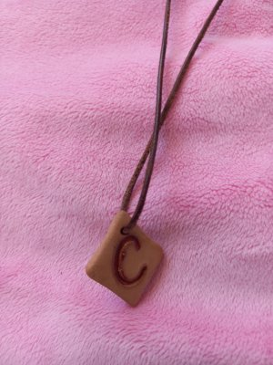 unknown Name Necklace brown