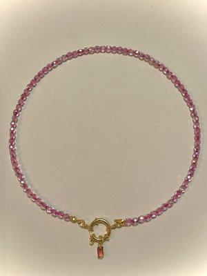 Naszyjnik różowy