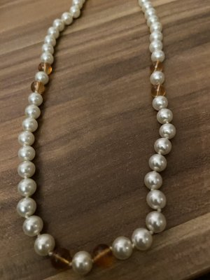 Pearl Necklace white-russet