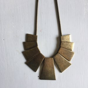 Necklace bronze-colored-gold-colored