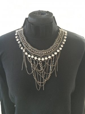 Riani Collier argento-grigio Metallo