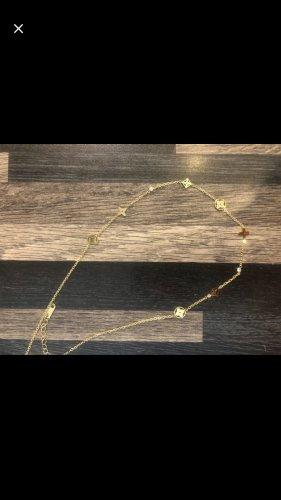 Halskette Blumen Gold