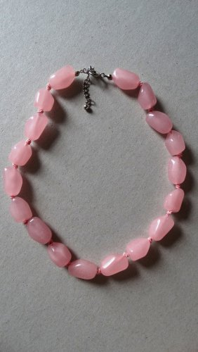 Collar rosa-rosa claro