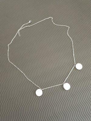 Halskette Damen von Lenoire Silberfarben Neu