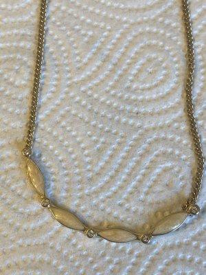 Halskette echt Steine vintage