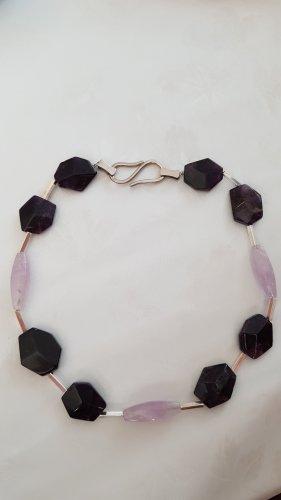 Halskette Echtsilber mit Amadis Steine