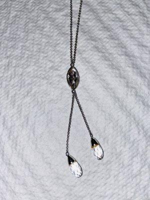 Halskette Eistropfen Silber