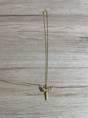 925er Silber Collier doré