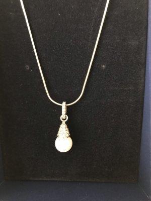 Swarovski Silver Chain white-silver-colored