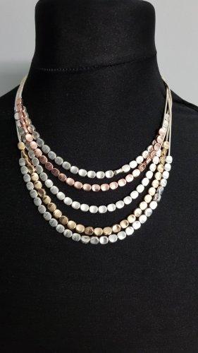 Moon'c Collar color plata-color rosa dorado
