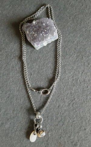 Halskette Fossil mit 2 Anhängern