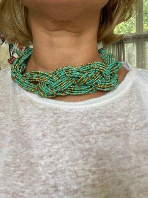 Halskette geflochten