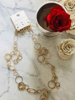 Halskette / Gold / Modeschmuck / NEU mit Etikett