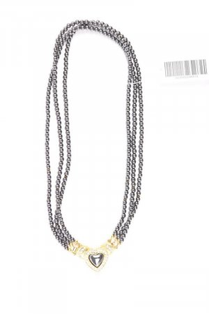 Halskette grau