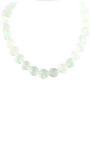 Halskette graugrün Casual-Look