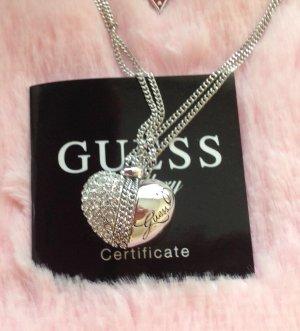 Halskette Guess mit Herz Strass