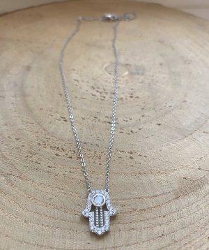 Halskette Hand Silber 925